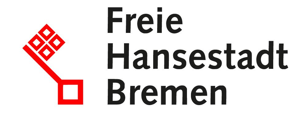 Logo der Freien Hansestadt Bremen mit stilisiertem Bremer Schlüssel